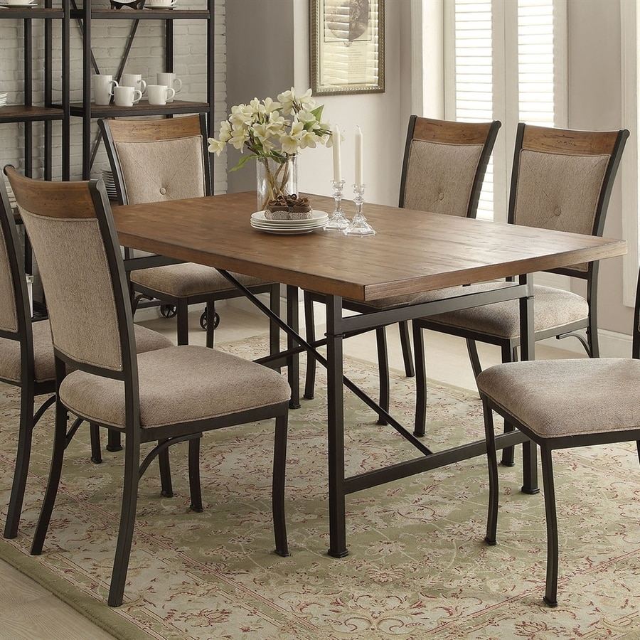 ACME Furniture Zeke Oak Dining Table