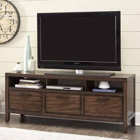 Scott Living Silas Warm Brown TV Cabinet