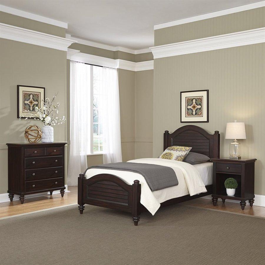 Home Styles Bermuda Espresso Twin Bedroom Set