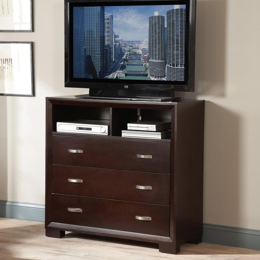 Homelegance Astrid Espresso TV Cabinet