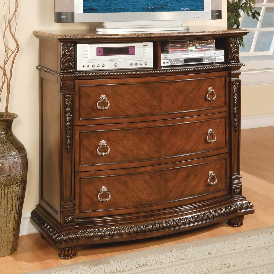 Homelegance Palace Rich Brown TV Cabinet