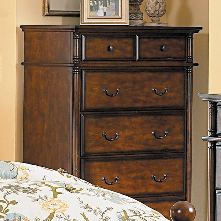 Homelegance Langston Rich Burnished Pine Chest