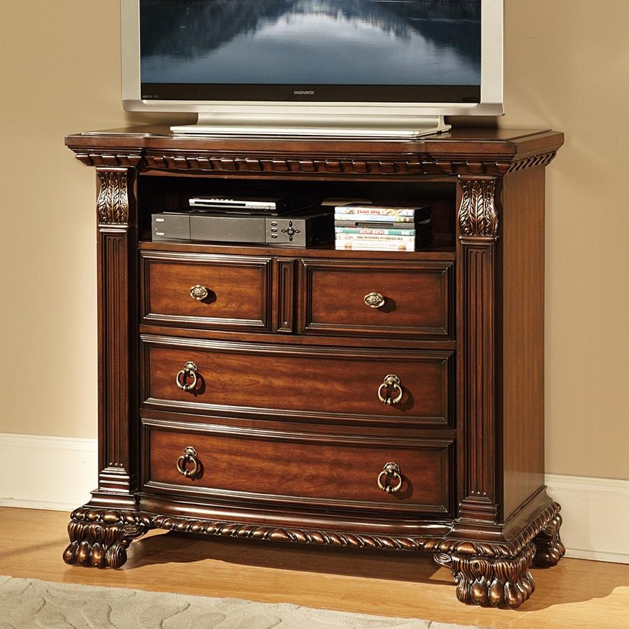 Homelegance Orleans Rich Cherry TV Cabinet