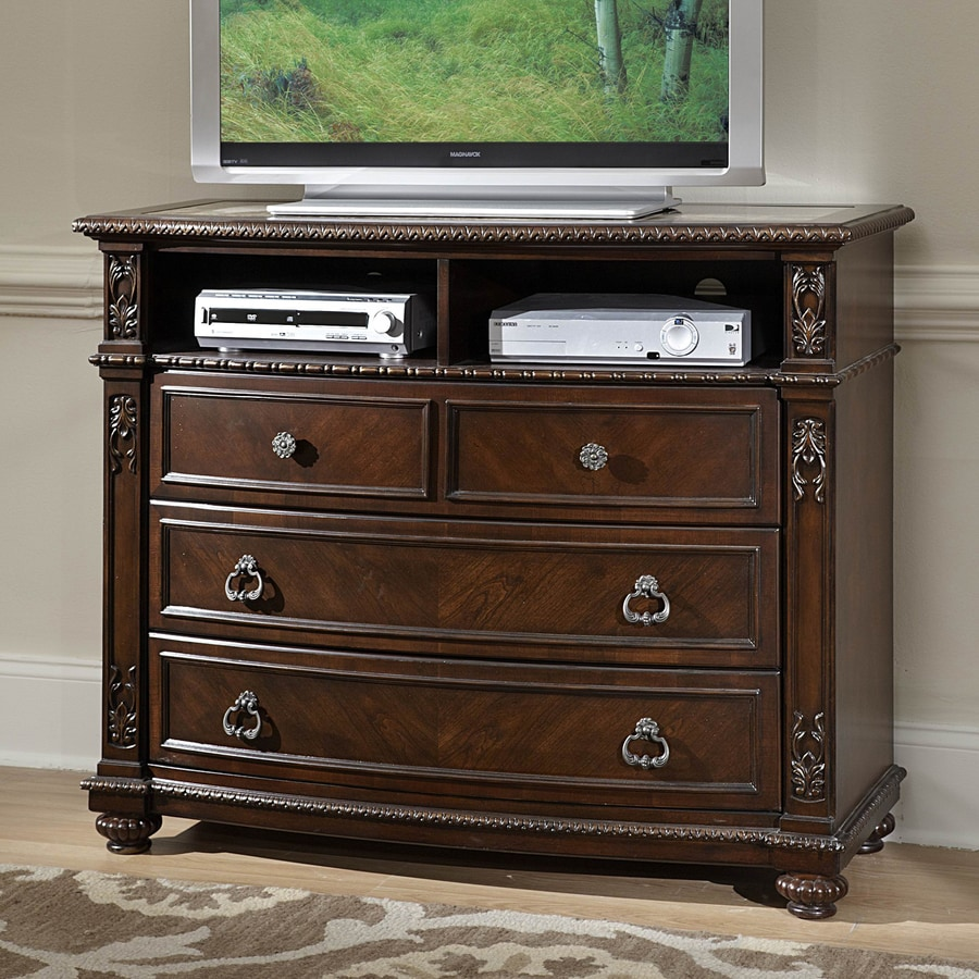 Homelegance Hillcrest Manor Rich Cherry TV Cabinet