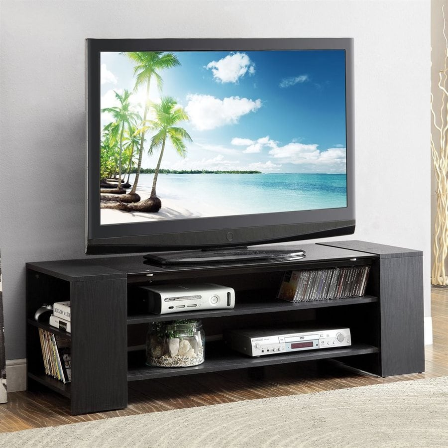 ACME Furniture Winford Black Rectangular TV Cabinet TV Stand
