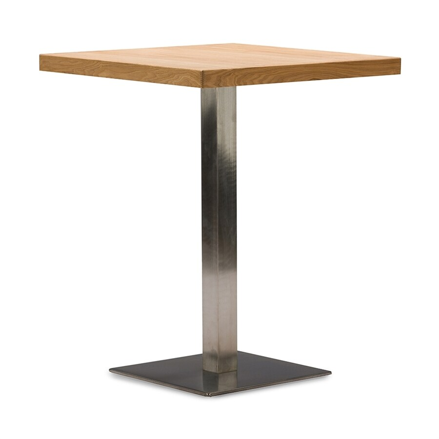 Baxton Studio Owen Natural Wood Dining Table