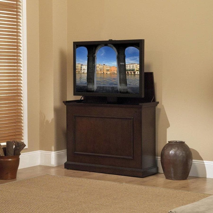 Awesome Touchstone Elevate Espresso Rectangular TV Cabinet