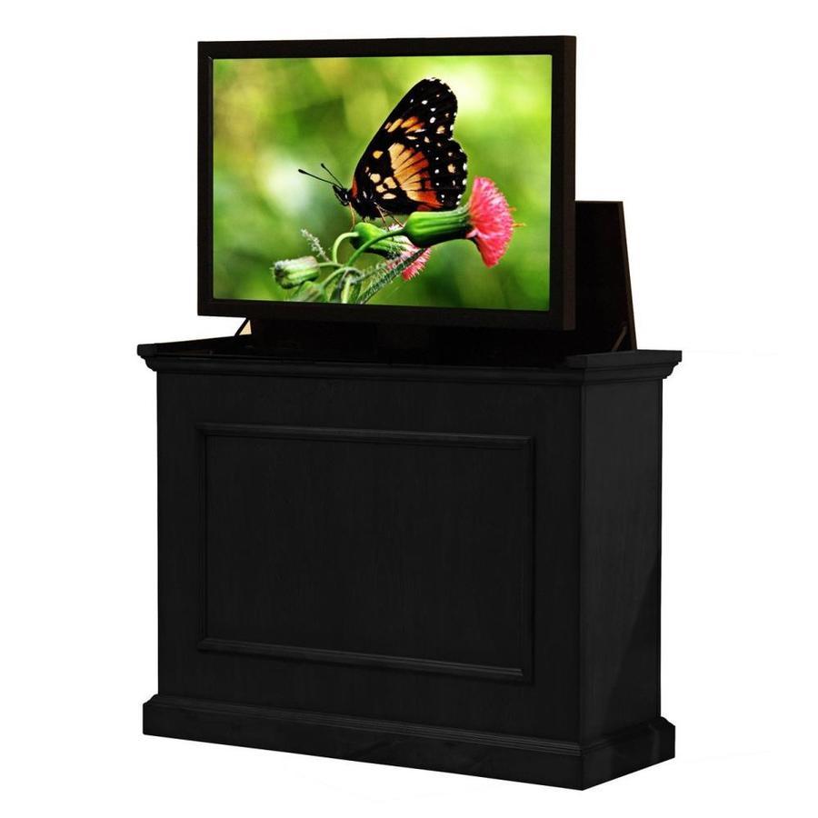 Touchstone Elevate Rich Black Rectangular TV Cabinet