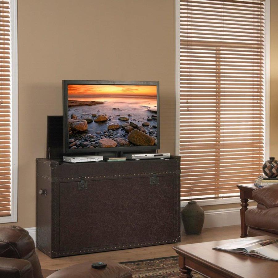 Touchstone Ellis Aged Cigar TV Cabinet Integrated TV Mount