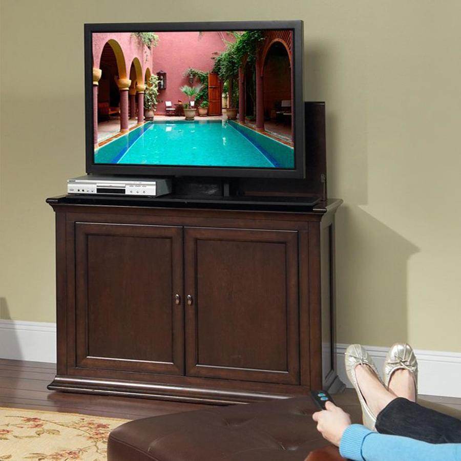 Touchstone Harrison Espresso Rectangular TV Cabinet