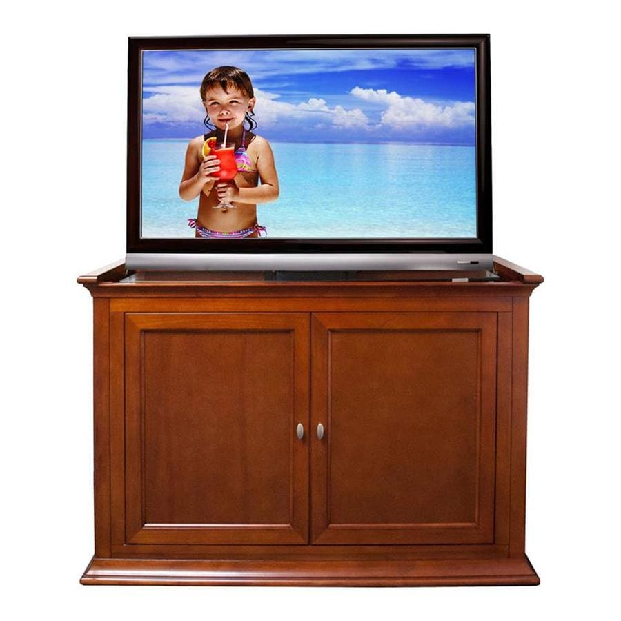 Touchstone Highland Dark Cherry Rectangular TV Cabinet