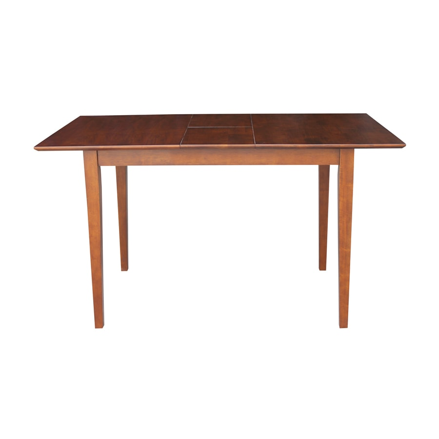 International Concepts Espresso Wood Extending Counter Table