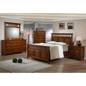 Sunset Trading Tremont Warm Chestnut Queen Bedroom Set