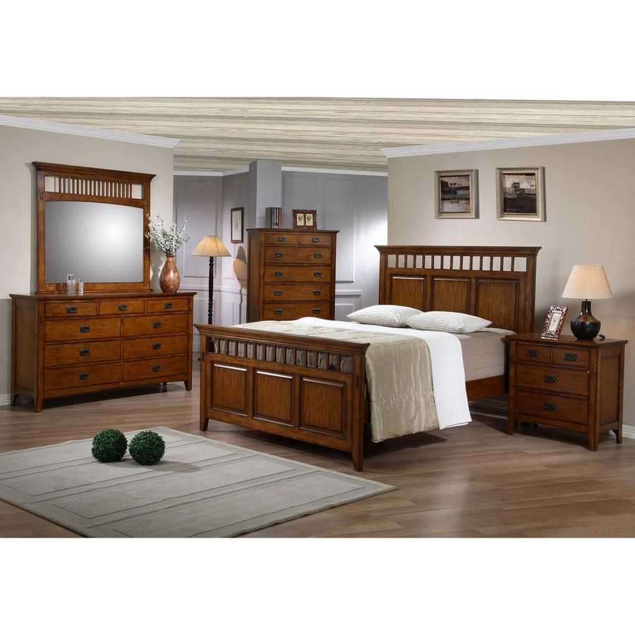 Sunset Trading Tremont Warm Chestnut Queen Bedroom Set
