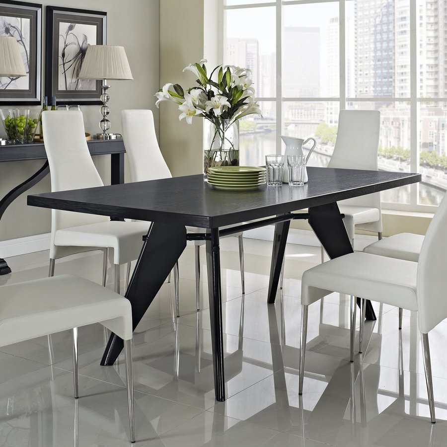 Modway Clasp Wenge Dining Table