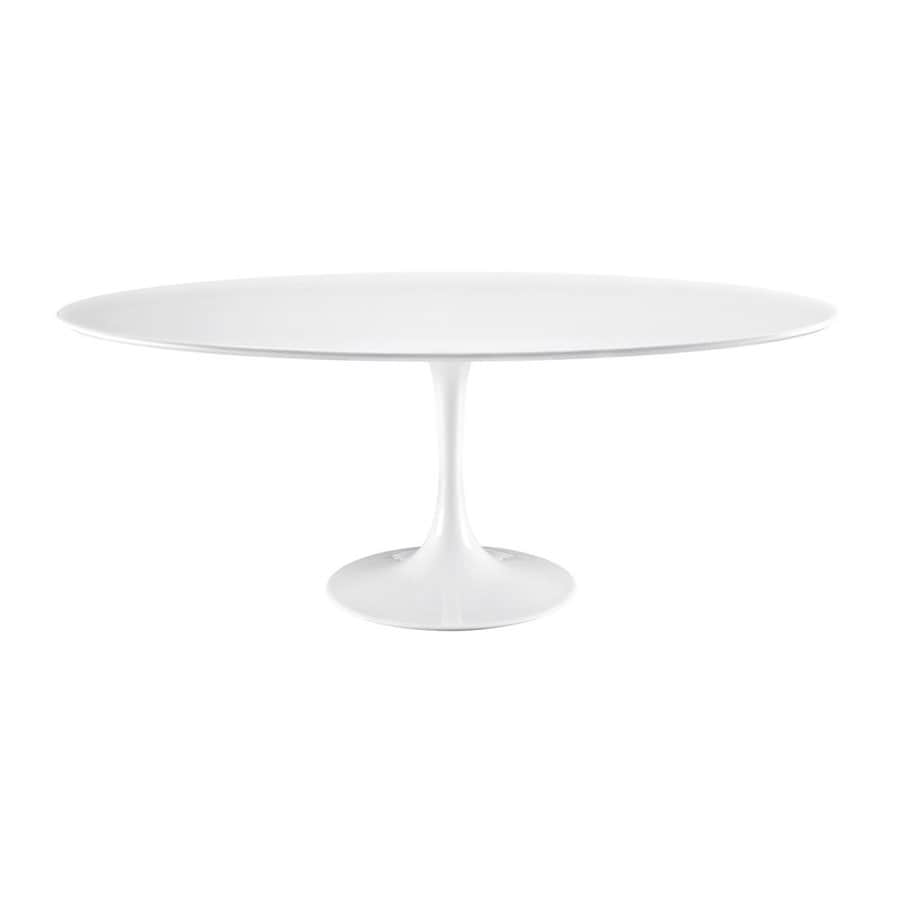 Modway Lippa White Dining Table