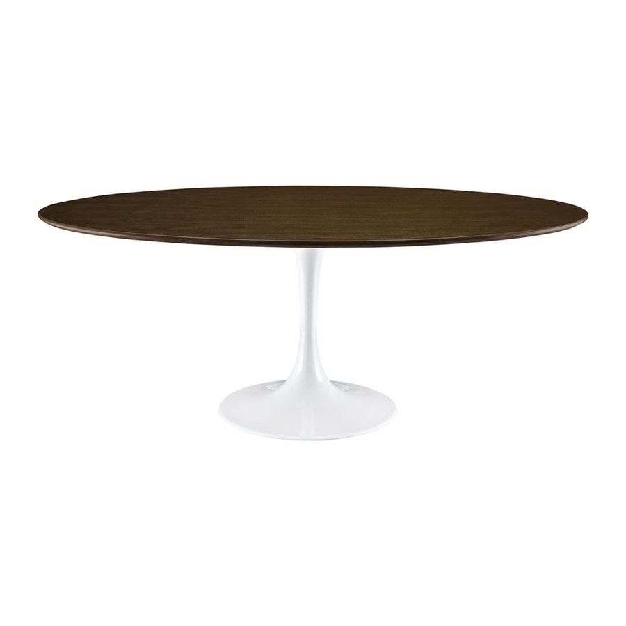 Modway Lippa Walnut Dining Table