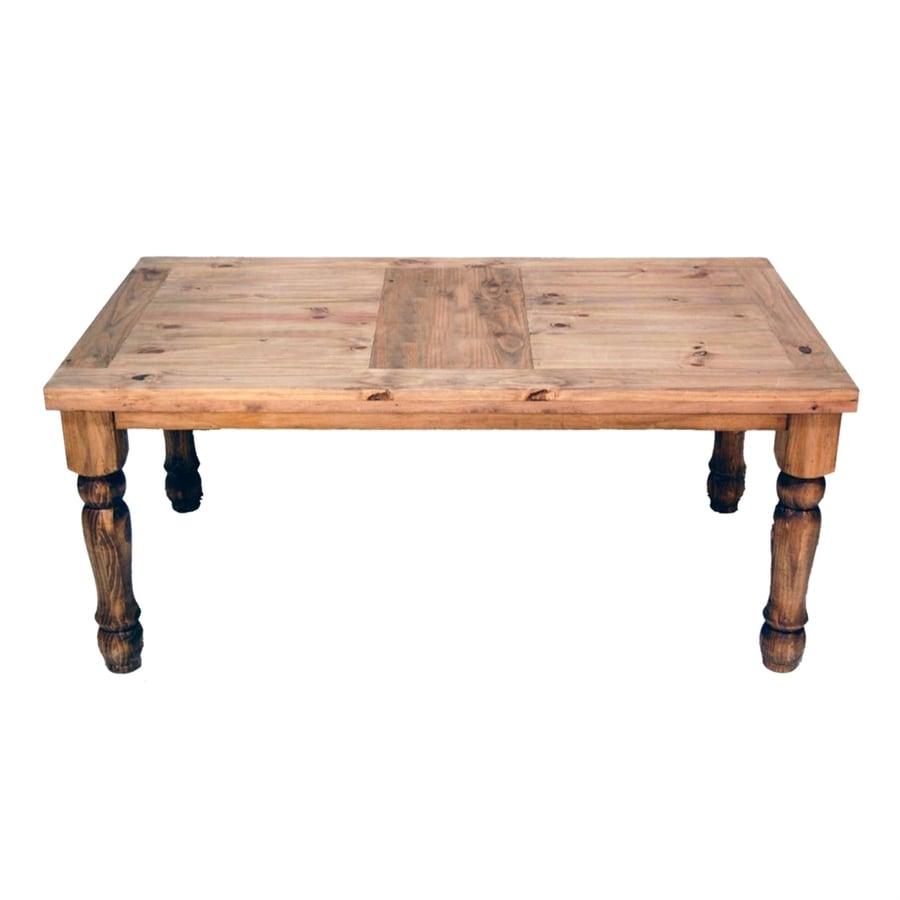 Million Dollar Rustic Plain Rustic Wood Dining Table