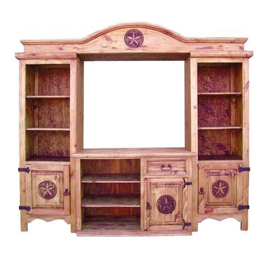 Million Dollar Rustic Rustic Rectangular TV Cabinet