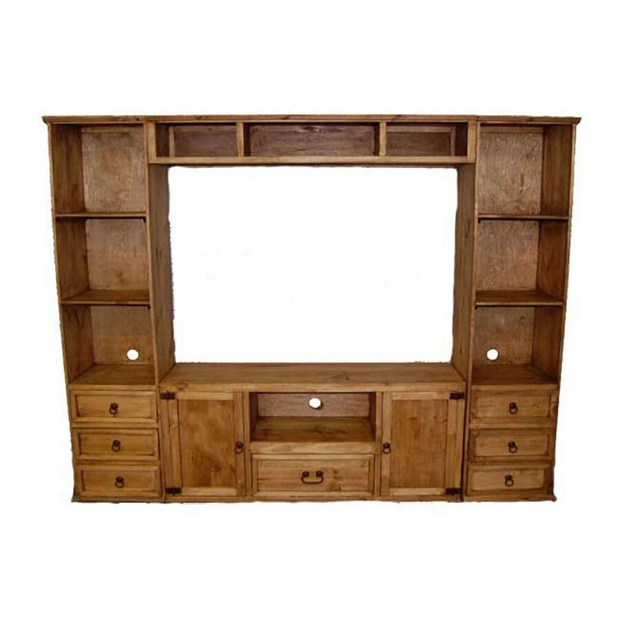 Million Dollar Rustic Rustic Rectangular TV Cabinet