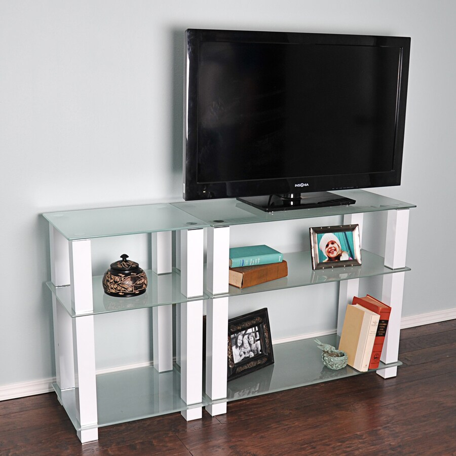 RTA Home & Office White TV Cabinet