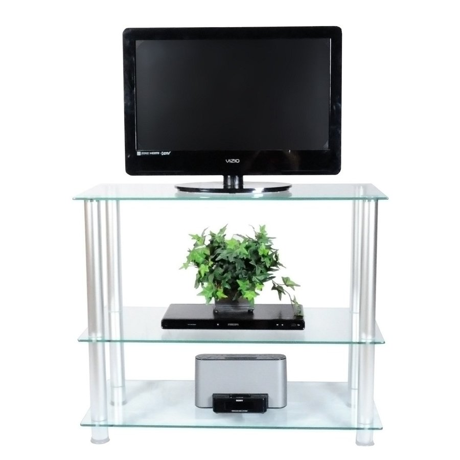RTA Home & Office Clear TV Cabinet