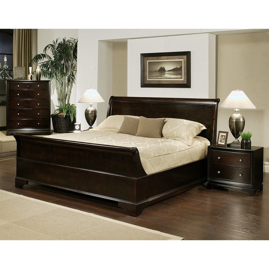 Pacific Loft Capriva Espresso California King Bedroom Set