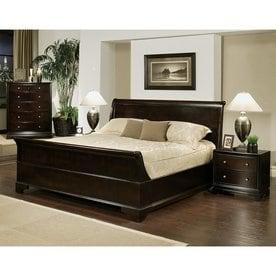 pacific loft capriva espresso king bedroom set