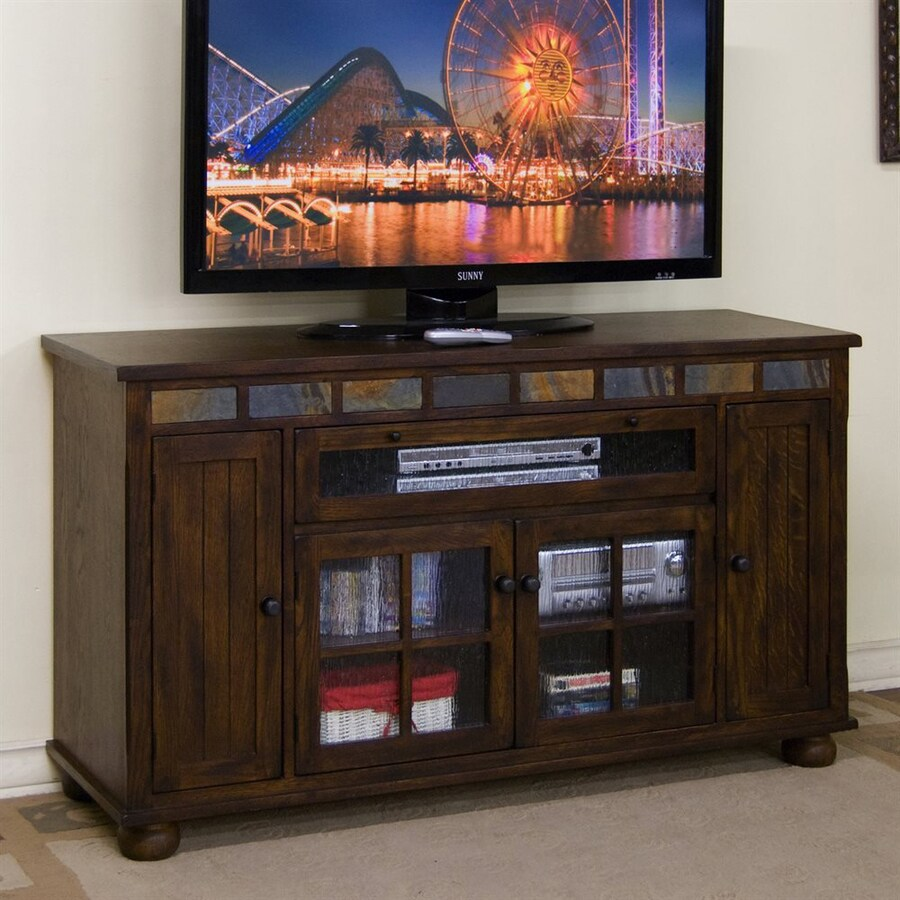 Sunny Designs Oxford Dark Oak Rectangular TV Cabinet