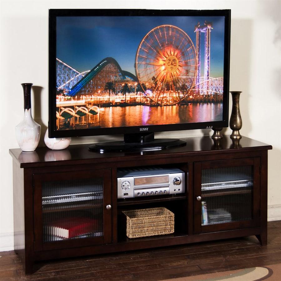 Sunny Designs Cappuccino Rectangular TV Cabinet
