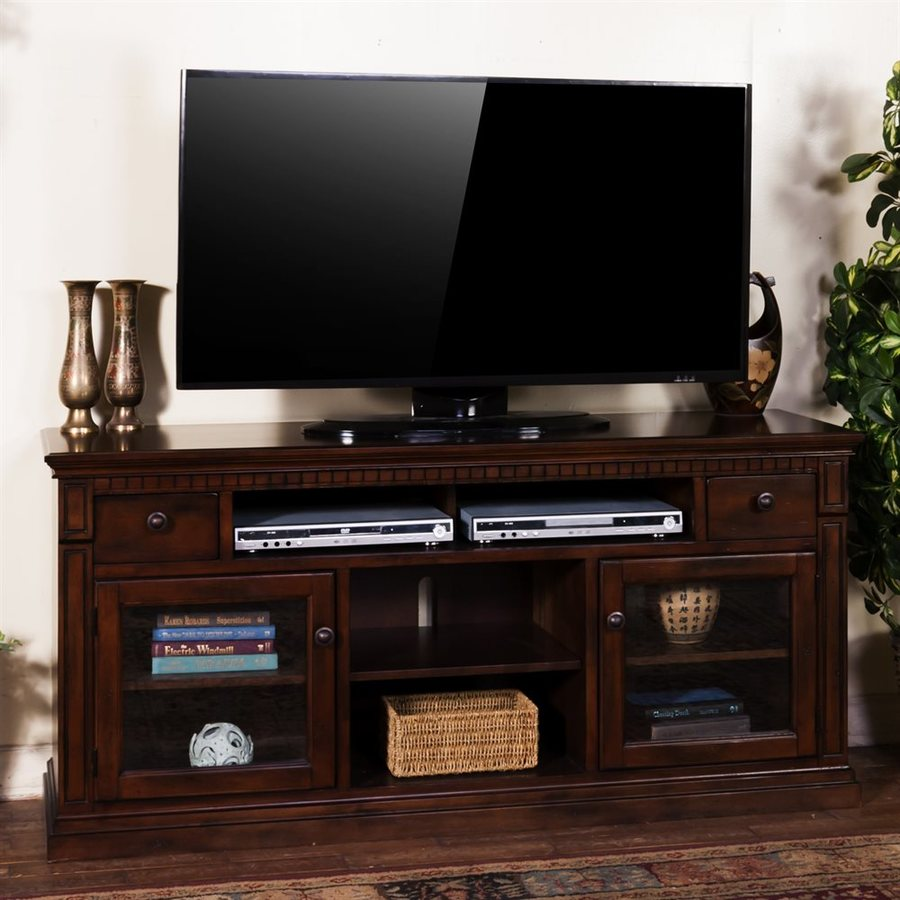 Sunny Designs Santa Fe Dark Chocolate Rectangular TV Cabinet