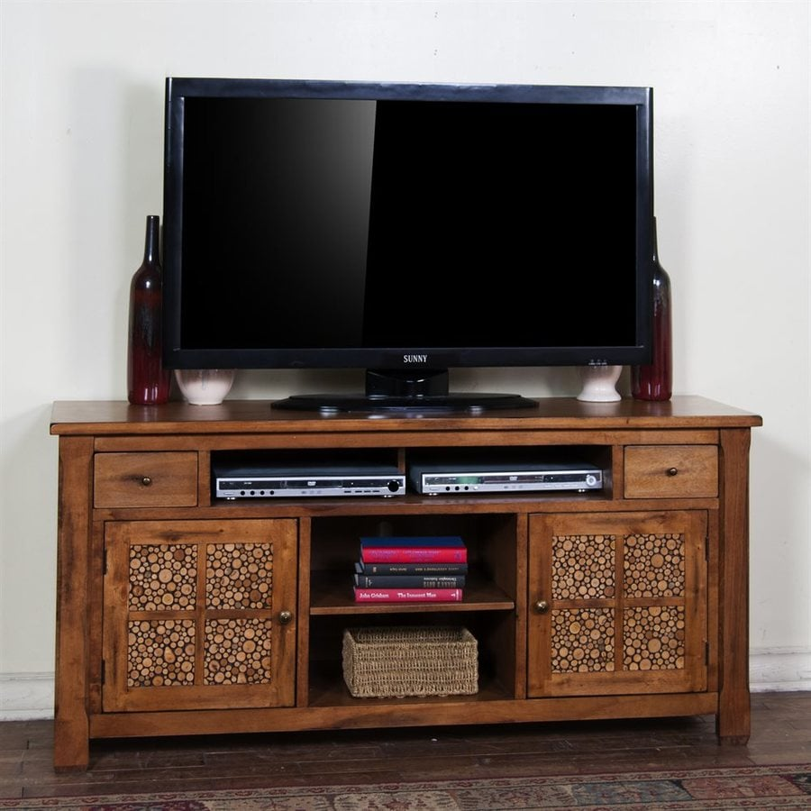 Sunny Designs Sedona Rustic Birch Rectangular TV Cabinet