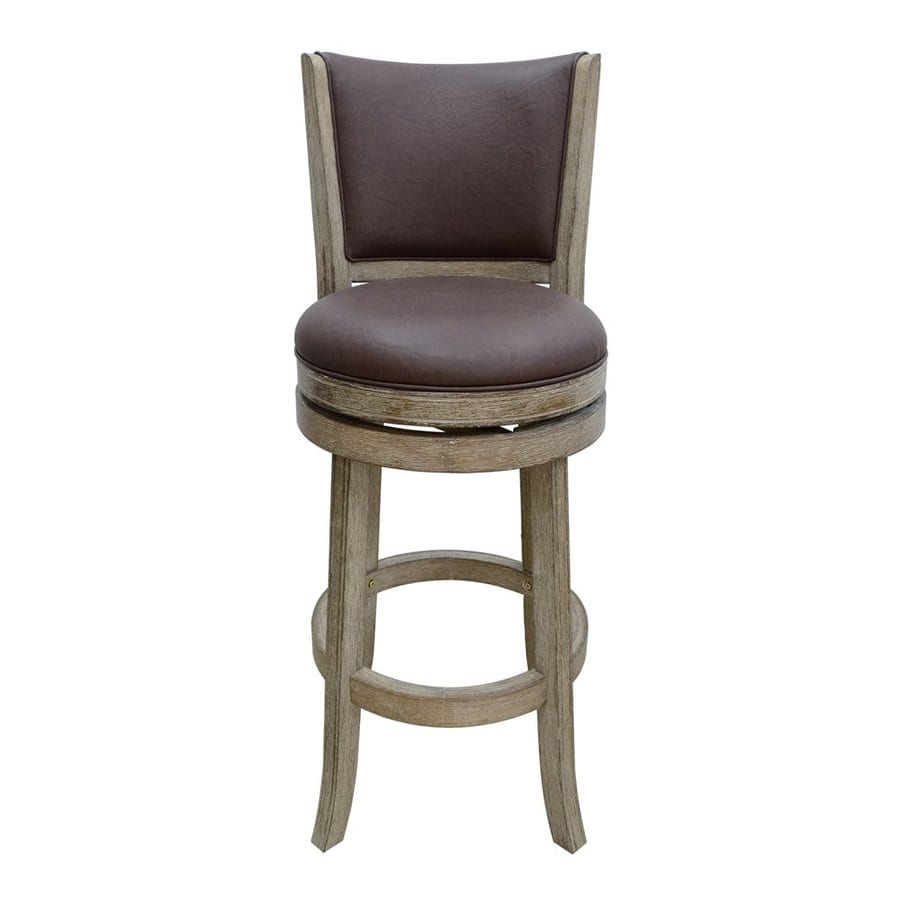 Boraam Industries Country/Cottage Chocolate Brown Bar Stool