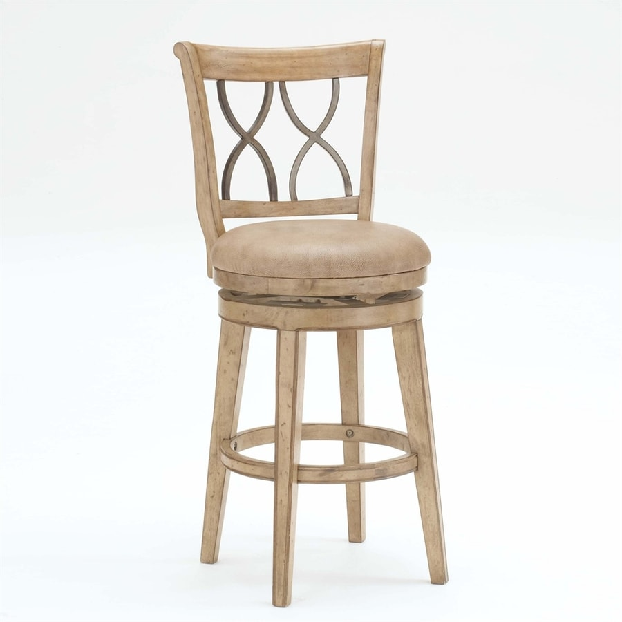 Hillsdale Furniture Reydon Country/Cottage Weathered Taupe Counter Stool
