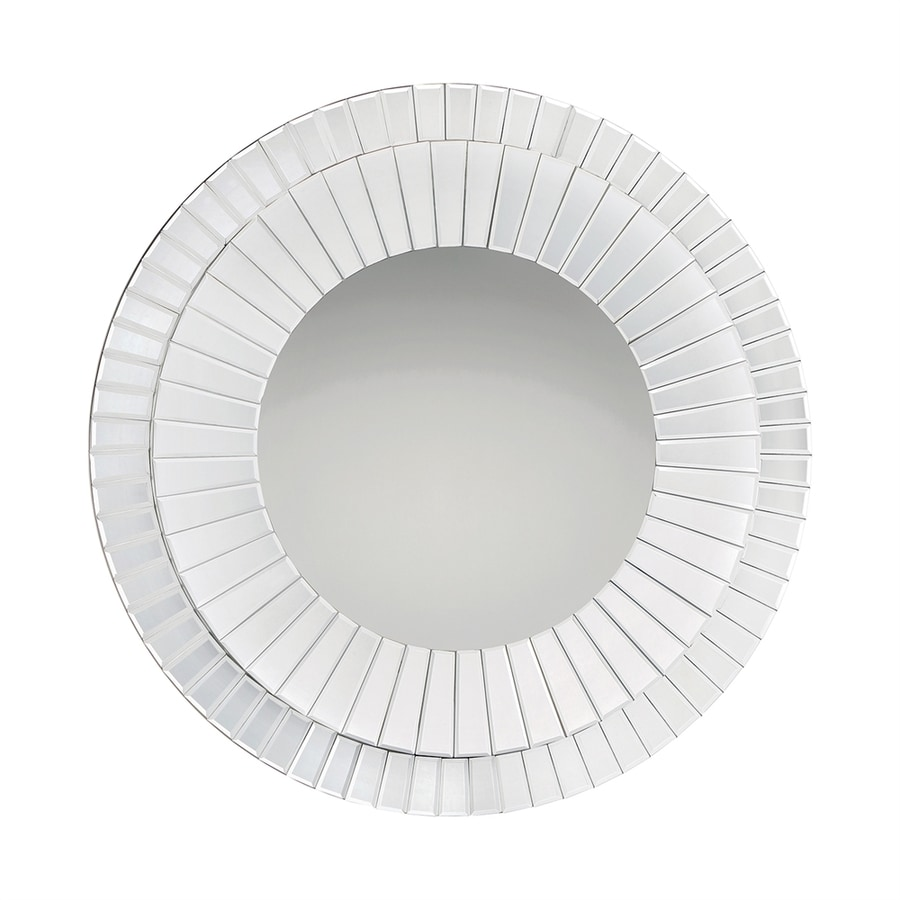 Quoizel Muse Beveled Round Wall Mirror