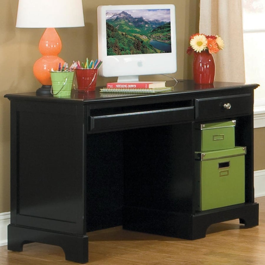 Homelegance Morelle Traditional Black Computer Desk