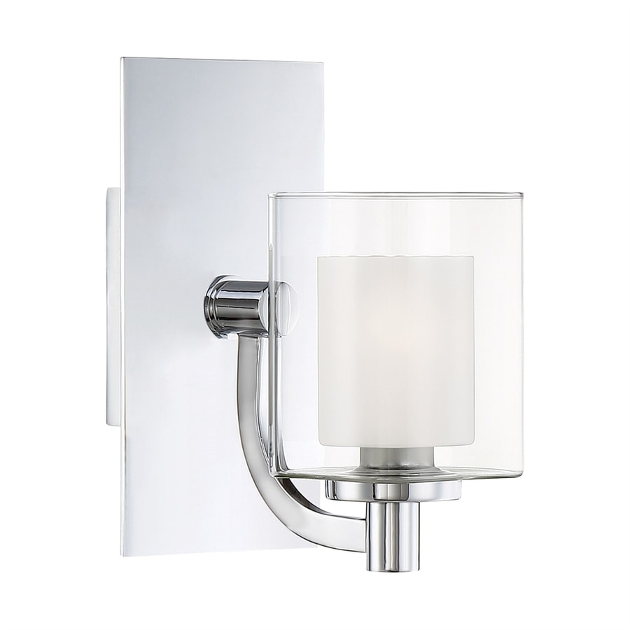 Quoizel Vanity Lights : Shop Quoizel Kolt 1-Light 9-in Polished chrome Cylinder LED Vanity Light at Lowes.com