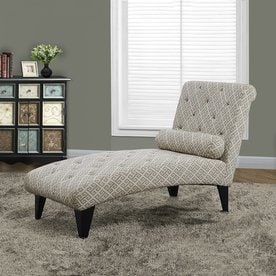 monarch specialties casual maze chaise lounge
