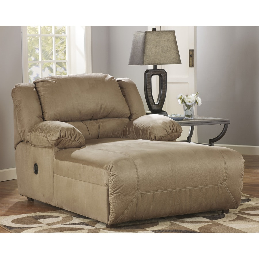 Signature Design by Ashley Hogan Casual Mocha Chaise Lounges