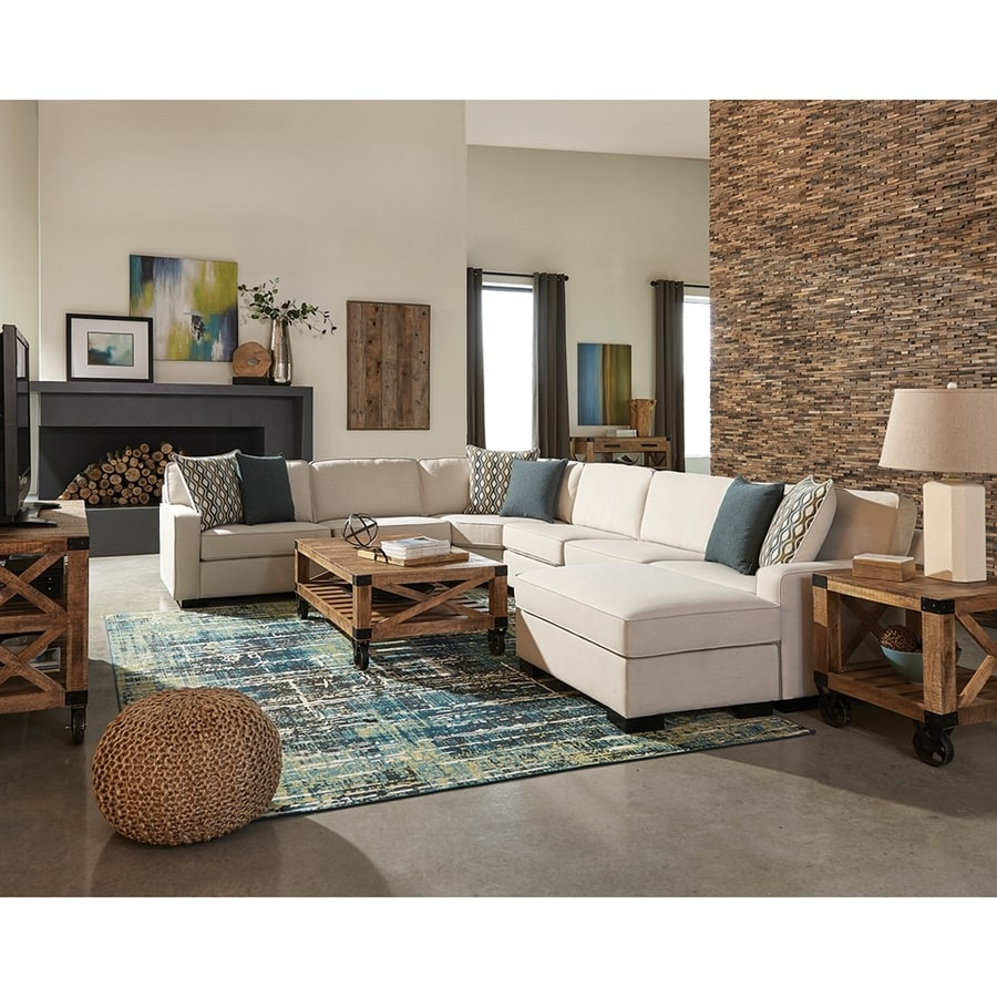 Scott Living Wylder Casual Ivory Sectional Part 65