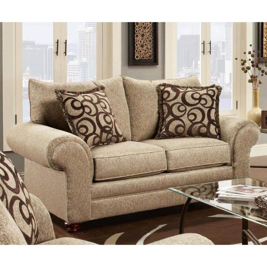 Chelsea Home Astrid Casual Mix Cafe Loveseat