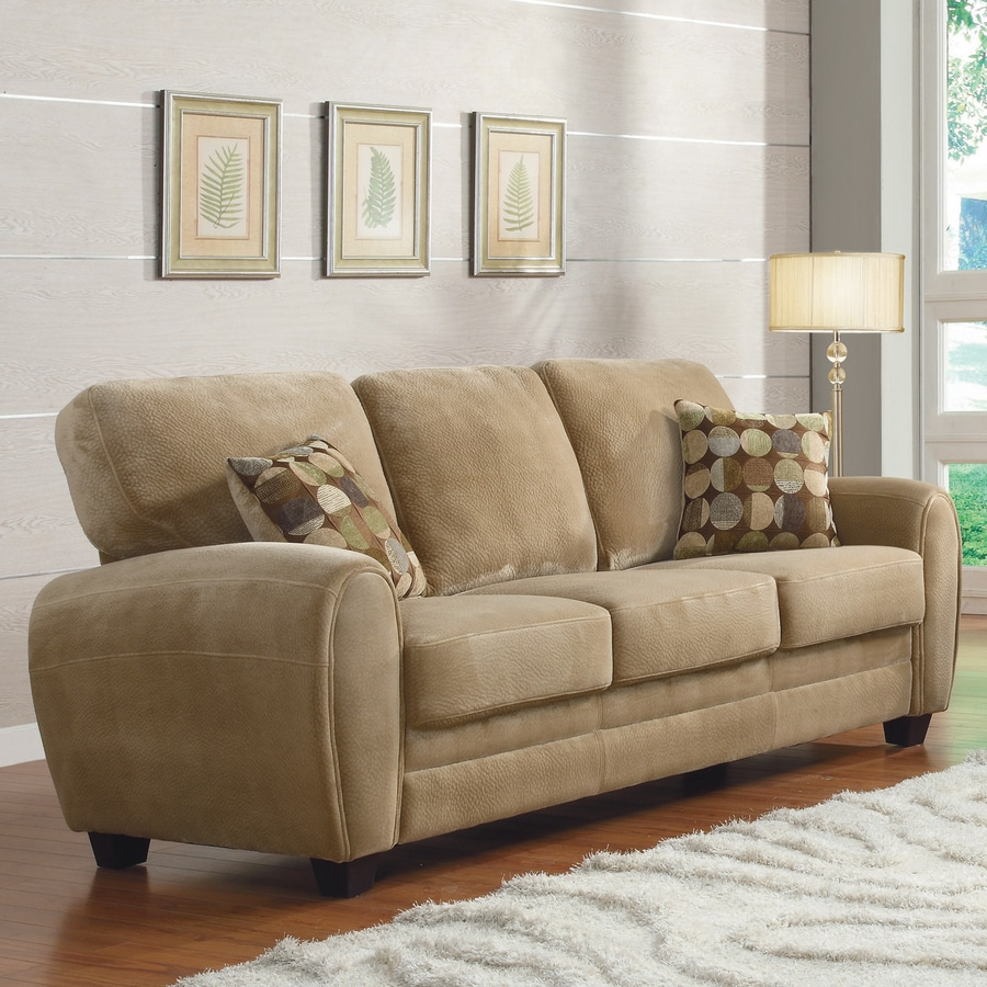 Homelegance Rubin Casual Light Brown Sofa