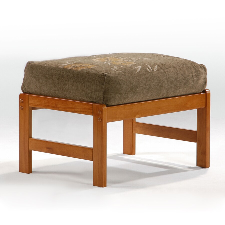 Night & Day Furniture Premium Country Honey oak Ottoman