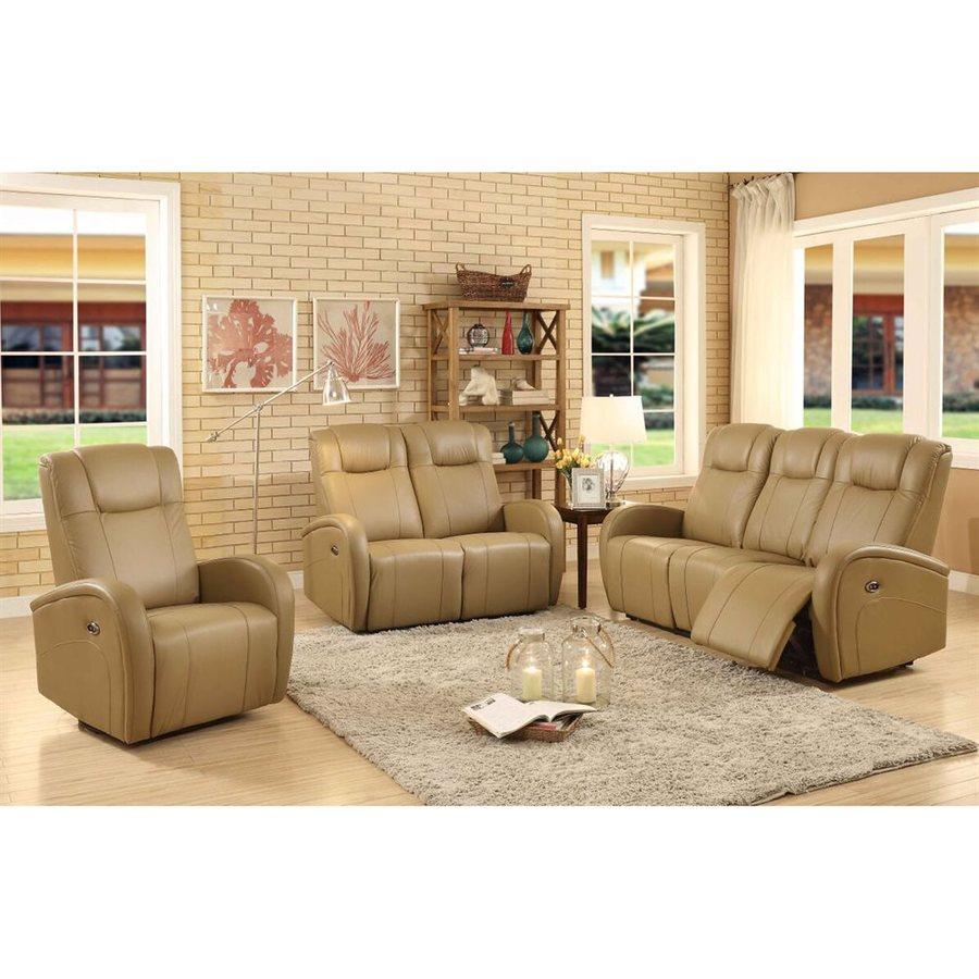 Sunset Trading 3-Piece Easy Living Tan Living Room Set