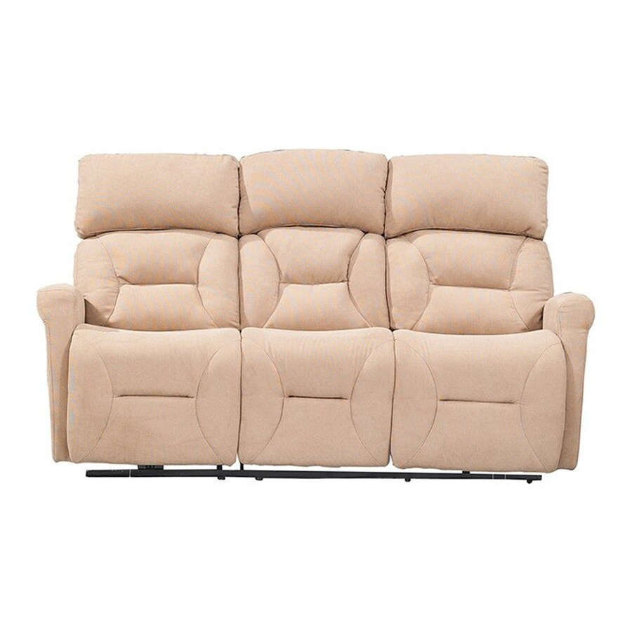 Sunset Trading Easy Living Casual Light Tan Reclining Sofa  sc 1 st  Loweu0027s & Shop Sunset Trading Easy Living Casual Light Tan Reclining Sofa at ... islam-shia.org