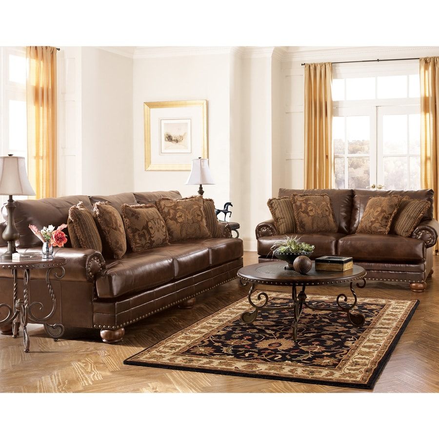 Signature Design by Ashley DuraBlend Casual 99200 Antique Loveseat