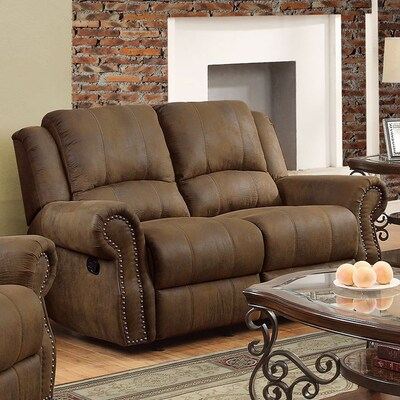 Awe Inspiring Sir Rawlinson Casual Brown Reclining Loveseat Gmtry Best Dining Table And Chair Ideas Images Gmtryco