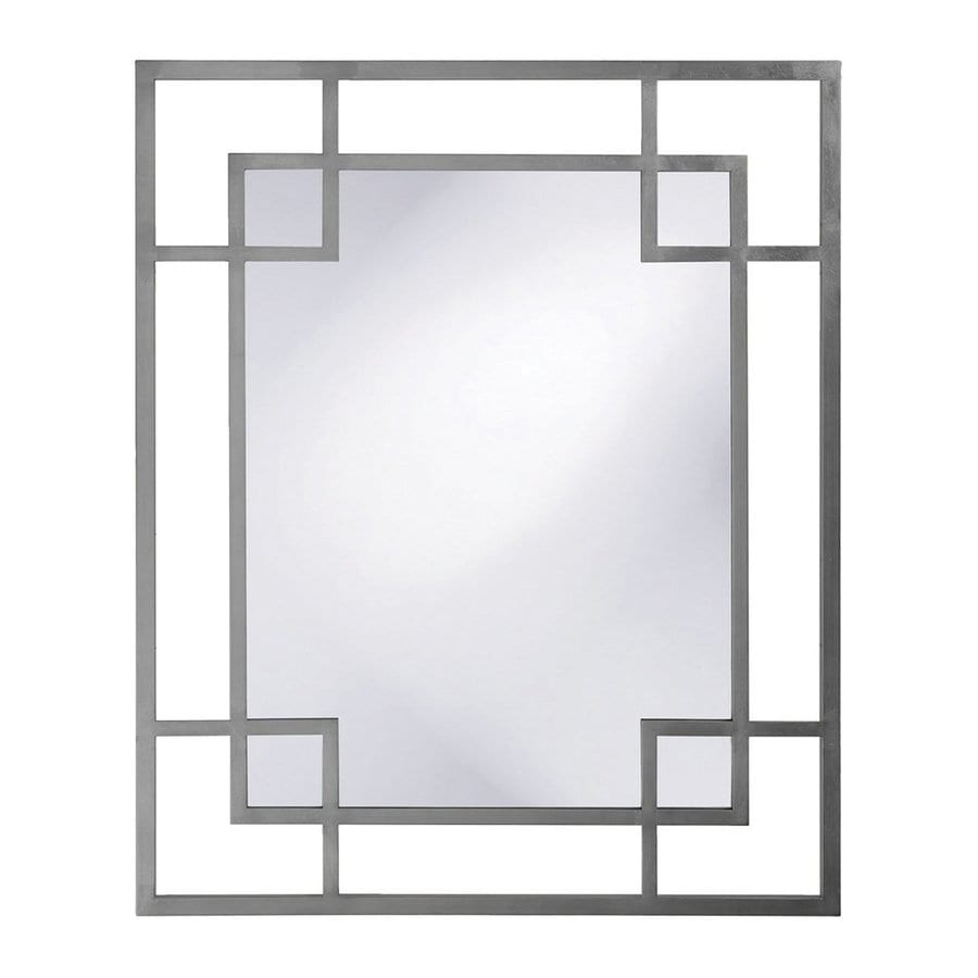Tyler Dillon Lois Charcoal Framed Wall Mirror