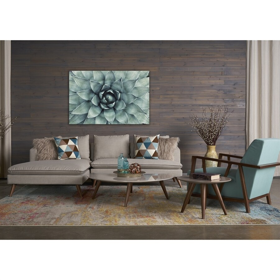 RST Brands 5-Piece Marco Stonewashed Grey/Blue Topaz Living Room Set