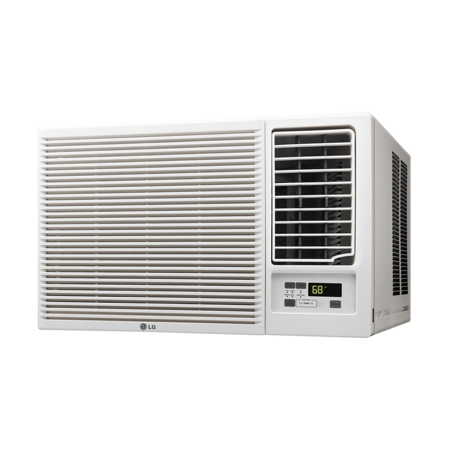 shop lg 1000 sq ft window air conditioner with heater 208